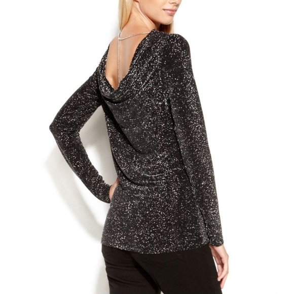 Michael Kors Sparkle with chain top